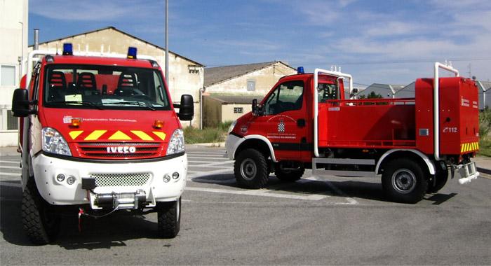 Bomberos - Protección civil