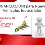 Financiación para nuevos Vehículos Industriales