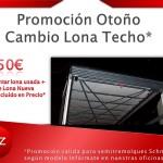 Promoción Otoño, Cambio Lona Techo